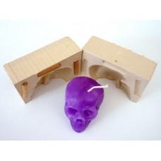 Silikonová forma dvoudílná - lebka 1